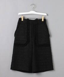 <AEWEN MATOPH>綾織流蘇邊短褲  日本製