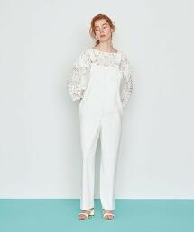 <AEWEN MATOPH>蕾絲長袖襯衫 日本製