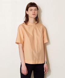 <AEWEN MATOPH>高密度平織 短袖套衫 日本製