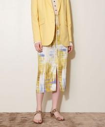 <AEWEN MATOPH> 印花窄裙 日本製