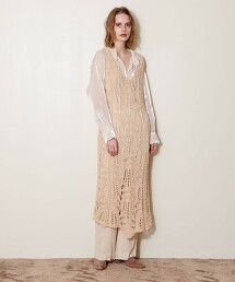 <AEWEN MATOPH>OPENWORK 連身裙  OUTLET商品