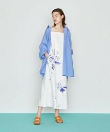 <Kentarou Tanaka for AEWEN MATOPH>C/LI 花朵印花 洋裝 日本製