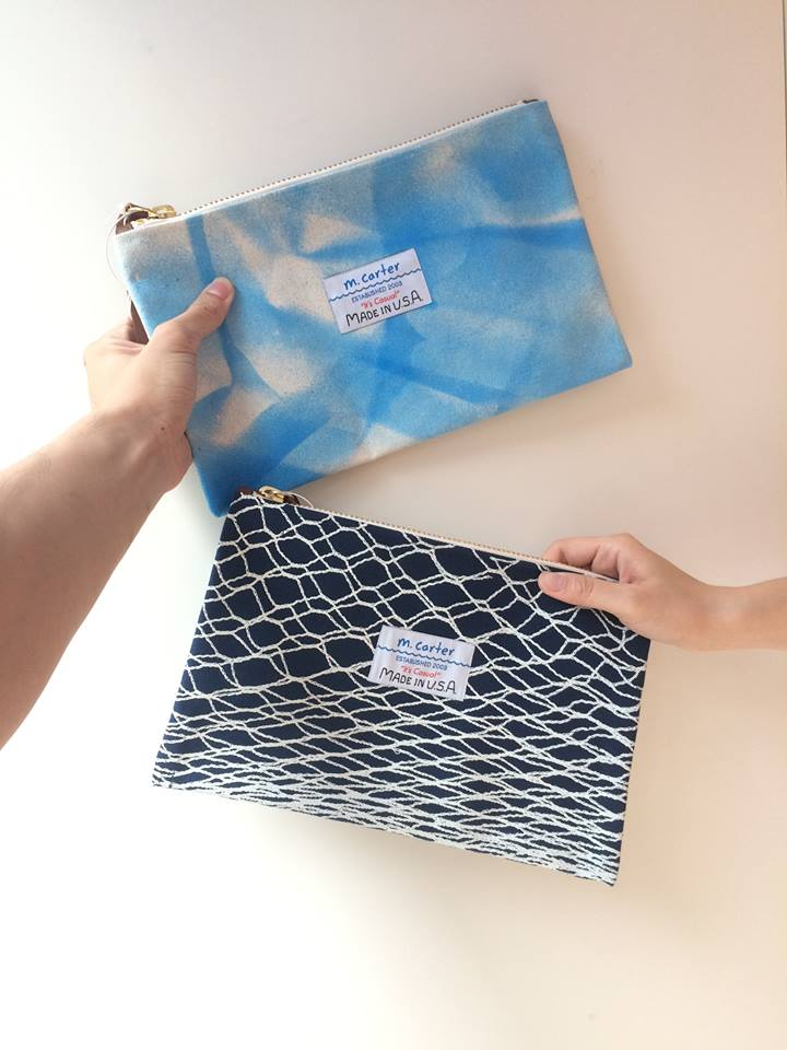M.CARTER CLUTCH BAG