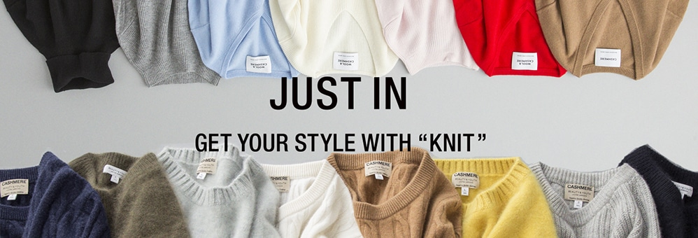 JUST IN -GET YOUR STYLE WITH ''KNIT''-
