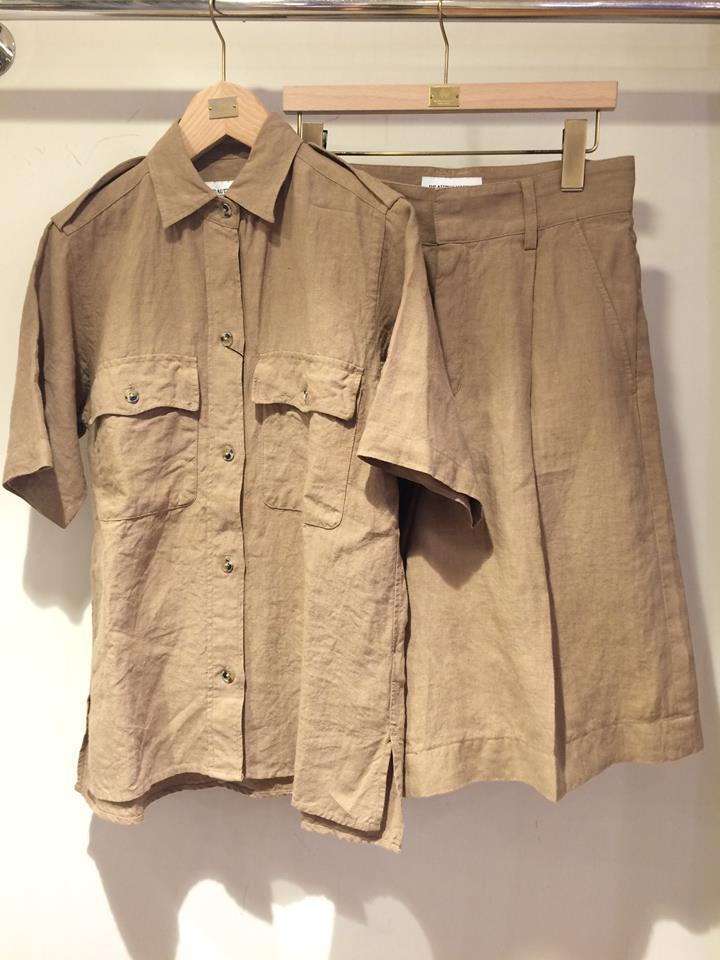 SAFARI SHIRT / SHORTS