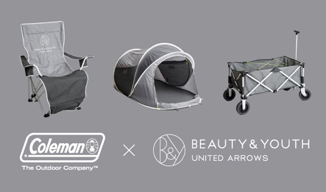 ■BEAUTY&YOUTH × <COLEMAN> 特別訂製單品■