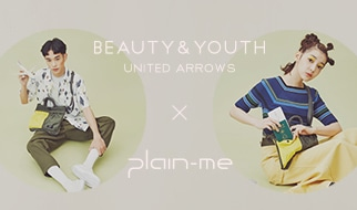 Beauty & Youth X plain-me聯名打造The Right Bag