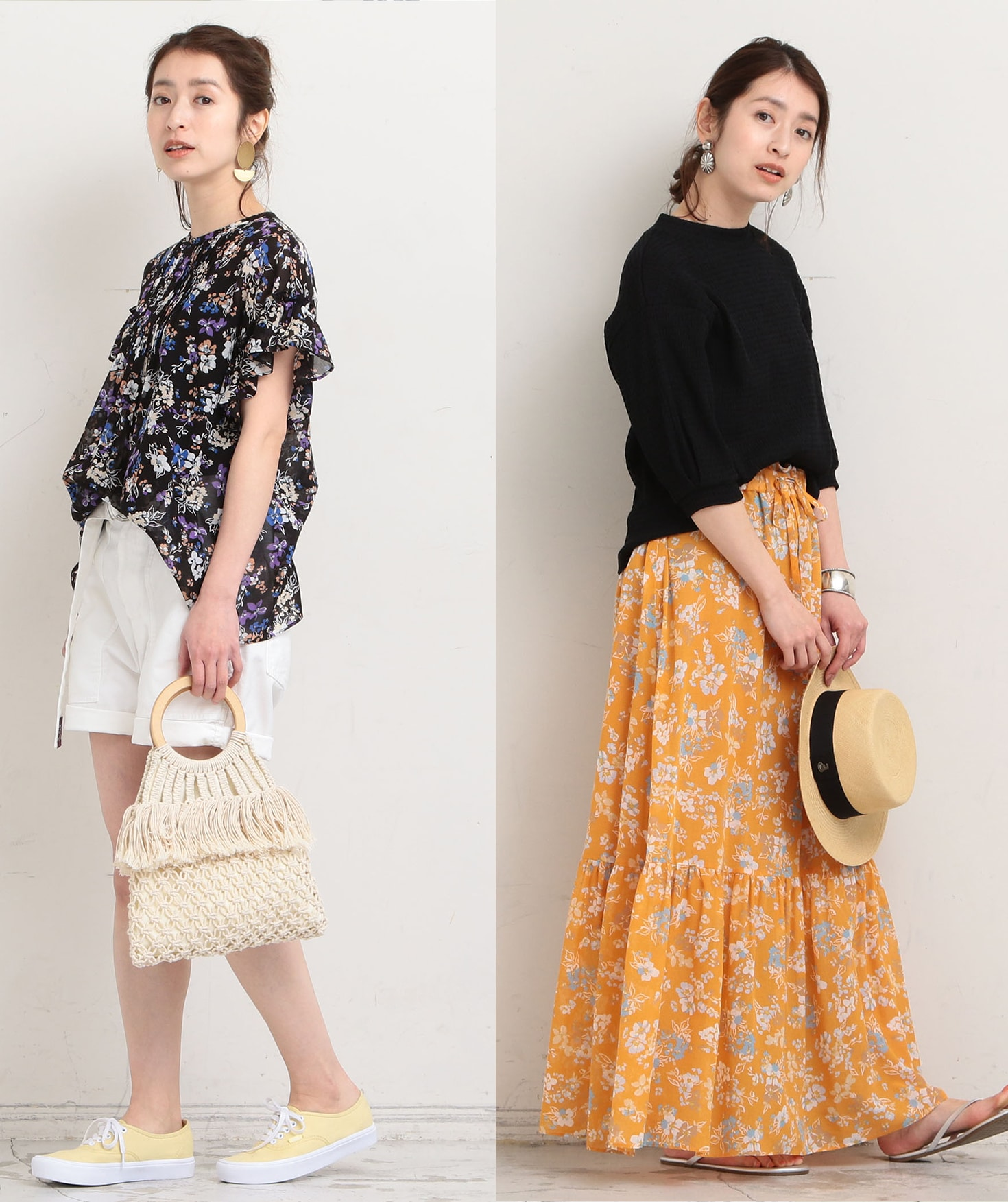 【BEAUTY&YOUTH】Flower Print Items